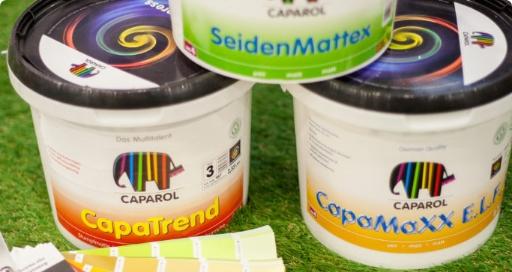 Οικολογικά Γερμανικά χρώματα Caparol